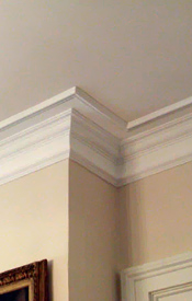 Crown Molding adds value in Asheville Real Estate